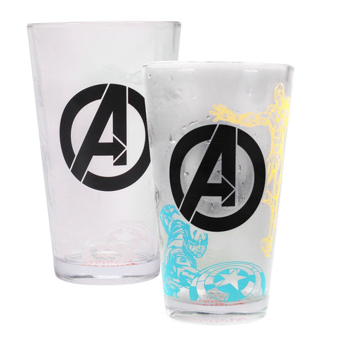 Marvel Avengers Cold Changing Glass