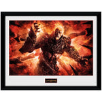 God of War Ares Collectors Framed Print