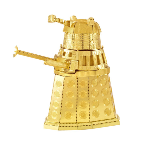 Metal Earth DIY 3D Model Doctor Who Gold Dalek