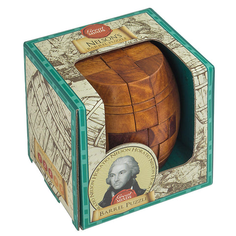 Great Minds - Nelson's Barrel Puzzle
