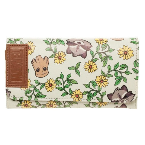 Guardians of the Galaxy Groot and Rocket Print Purse