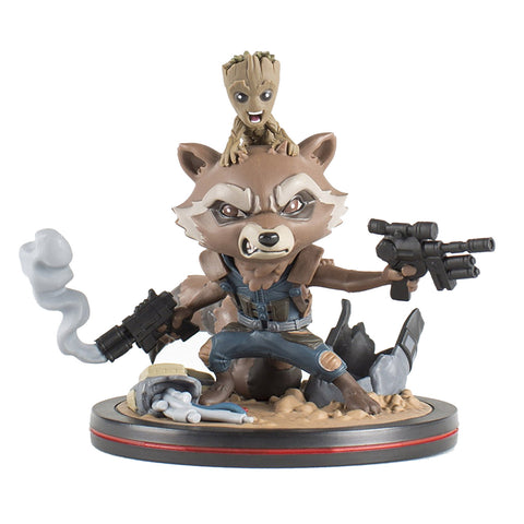 Guardians of the Galaxy Rocket & Groot Q-Fig Diorama