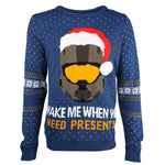 Halo Master Chief Knitted Christmas Jumper