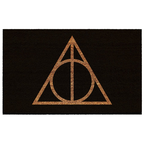 Harry Potter Deathly Hallows Coir Doormat