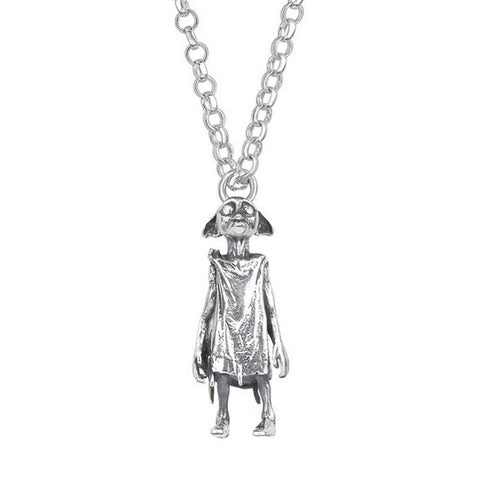 Harry Potter Dobby Sterling Silver Necklace