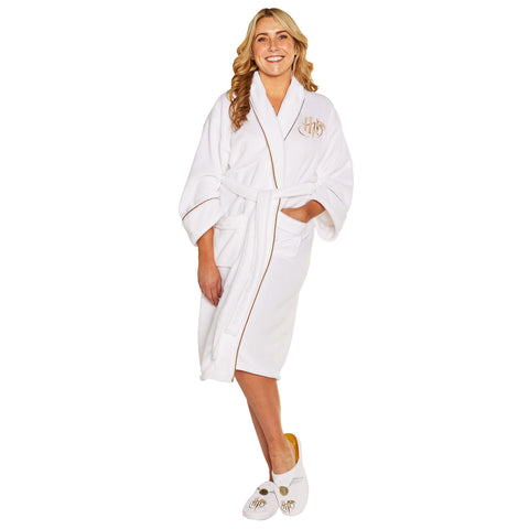 Harry Potter Golden Snitch Ladies Bathrobe
