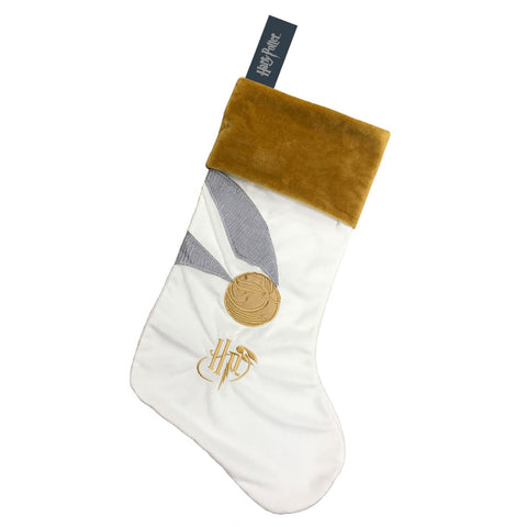 Harry Potter Golden Snitch Christmas Stocking