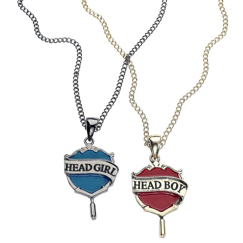 Harry Potter Head Boy & Head Girl Necklace Set