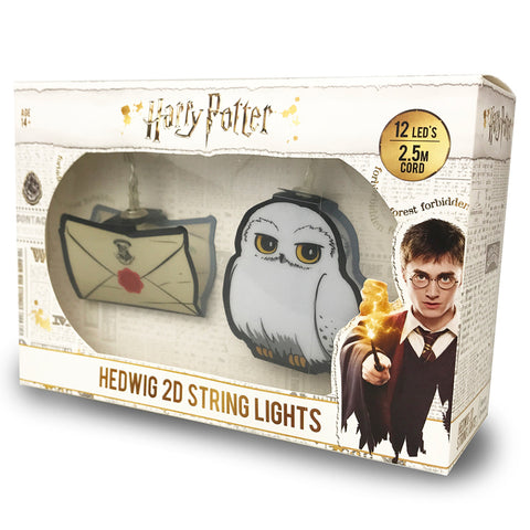 Harry Potter Hedwig and Acceptance Letter String Lights
