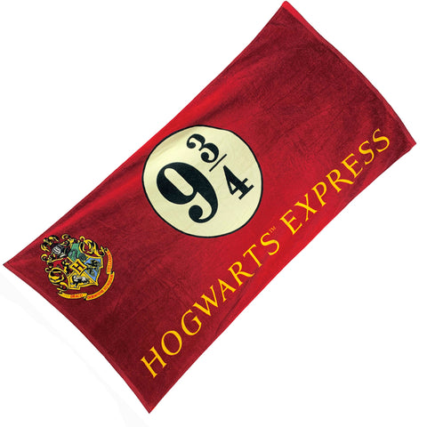 Harry Potter Hogwarts Express Platform 9 3/4 Bath Towel