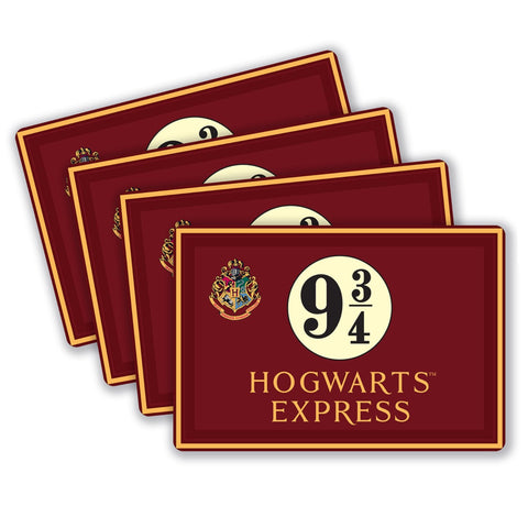 Harry Potter Hogwarts Express Placemats (Set of 4)