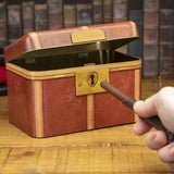 Harry Potter Hogwarts Magic Money Box with Wand