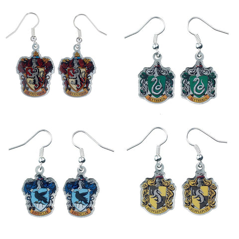 Harry Potter House Crest Earrings