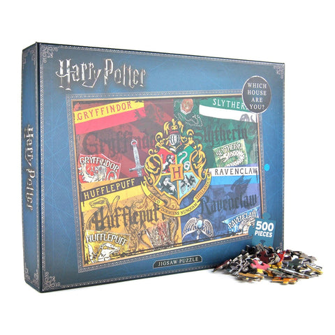 Harry Potter Houses 500 piece Puzzle
