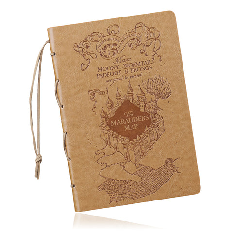 Harry Potter Marauder's Map Premium Journal