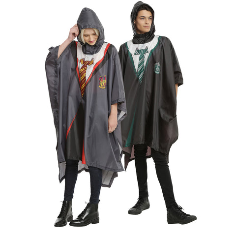 Harry Potter House Rain Ponchos