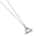Harry Potter Sterling Silver Deathly Hallows Pendant