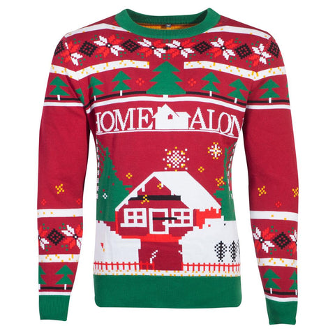 Home Alone Knitted Christmas Sweater/Jumper