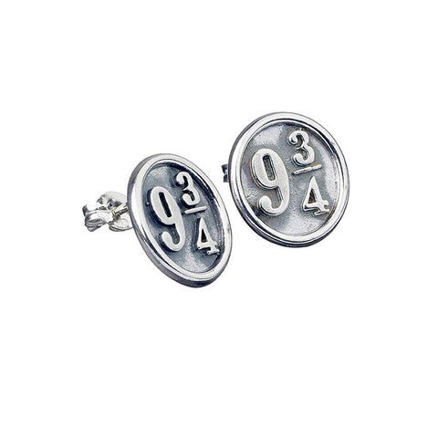 Harry Potter Platform 9¾ Sterling Silver Stud Earrings