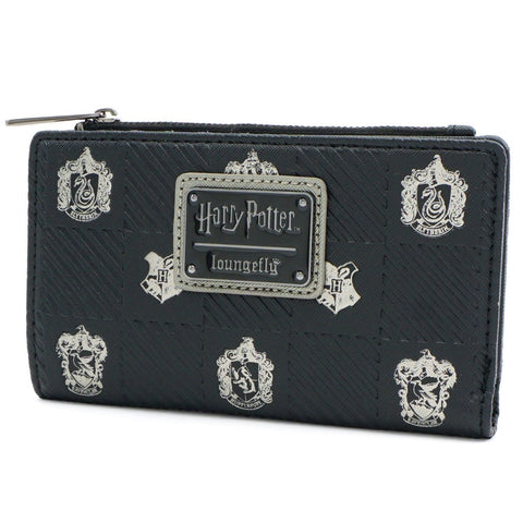 Loungefly x Harry Potter Hogwarts Crests Wallet