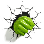 Hulk Fist 3D Night Light