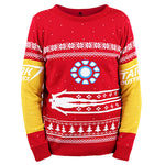 Iron Man Knitted Christmas Jumper / Sweater