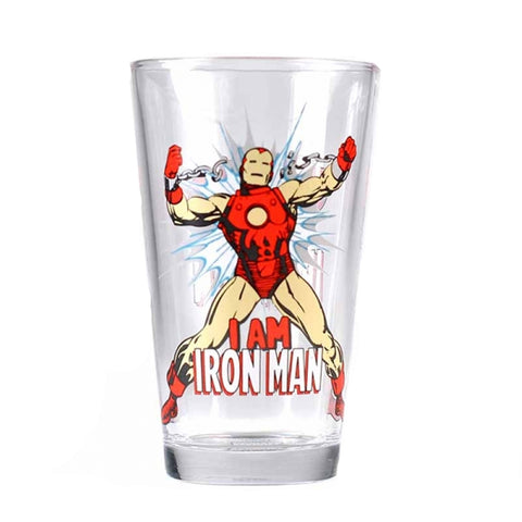 Marvel Invincible Iron Man Glass