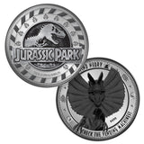 Jurassic Park Find Nedry Limited Edition Collectors Coin