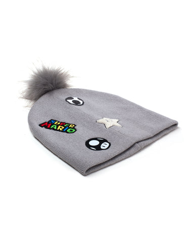 Super Mario Patches Beanie