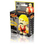 Street Fighter 2 Ken Pixel Bricks