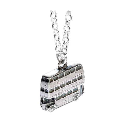 Official Harry Potter Knight Bus Sterling Silver Charm Necklace