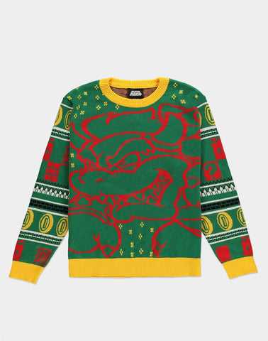 Super Mario Bowser Christmas Jumper