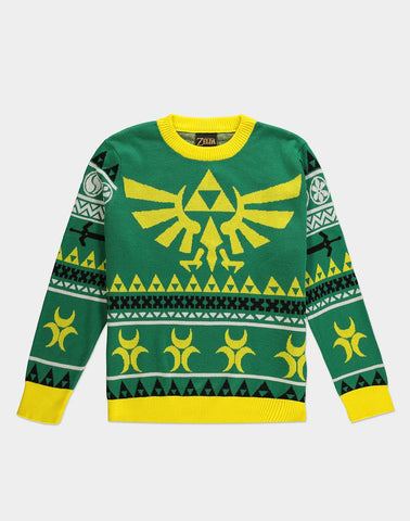 The Legend of Zelda Hyrule Christmas Jumper