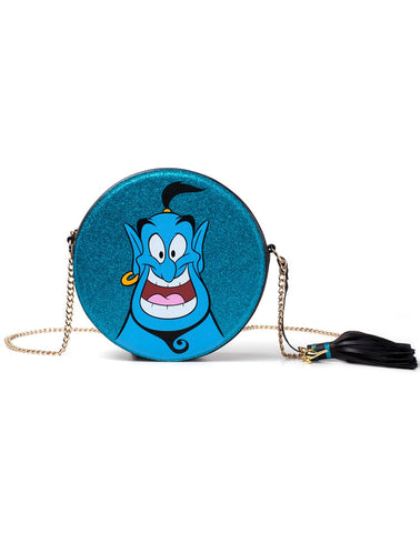 Disney Aladdin Genie Round Glitter Shoulder Bag