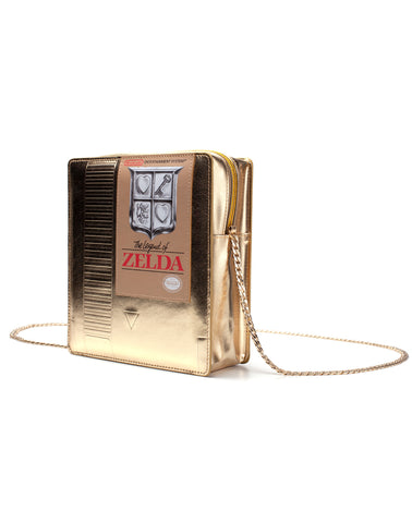 The Legend of Zelda Gold Cartridge Handbag