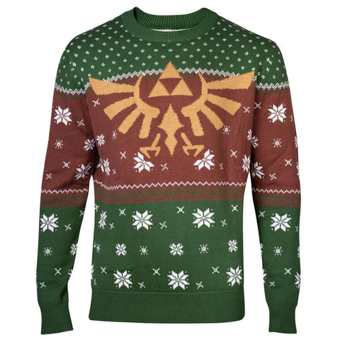 The Legend of Zelda Golden Hyrule Knitted Christmas Jumper / Sweater