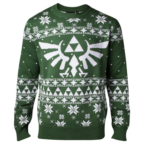 Legend of Zelda Hylian Knitted Christmas Jumper / Sweater