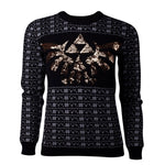 The Legend of Zelda Sequinned Knitted Girls Christmas Jumper / Sweater