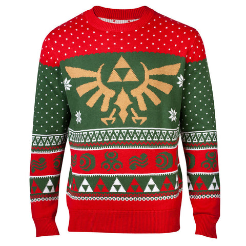 The Legend of Zelda Xmas in Hyrule Knitted Christmas Jumper / Sweater