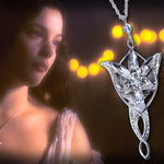 The Lord of the Rings Sterling Silver Evenstar Pendant