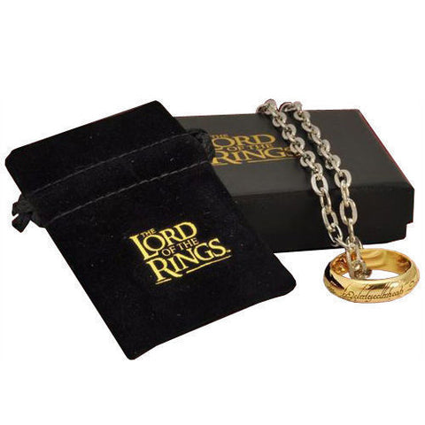 The Lord of the Rings One Ring and Chain (Costume)