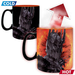 The Lord of the Rings Jumbo Heat Changing Mug - Sauron