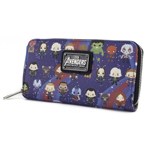 Loungefly x Marvel Avengers Kawaii Character Purse