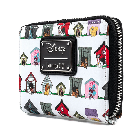 Loungefly x Disney the Dogs of Disney Zip Around Purse