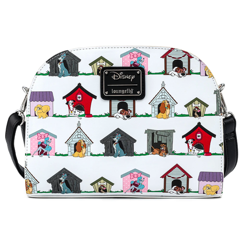 Loungefly x Disney the Dogs of Disney Crossbody Bag