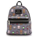 Loungefly x Marvel Guardians of the Galaxy Kawaii Character Mini Backpack