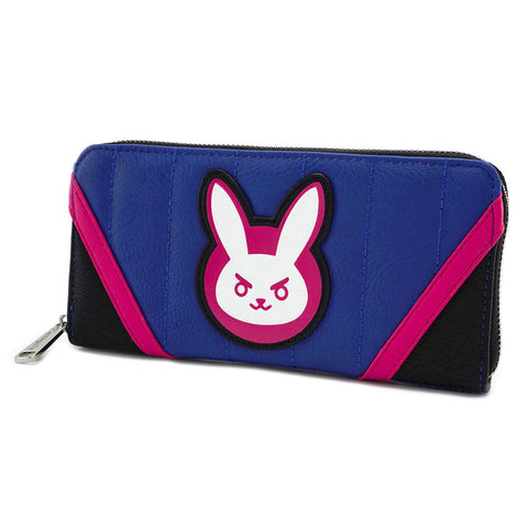 Loungefly x Overwatch D.Va Zip-Around Purse