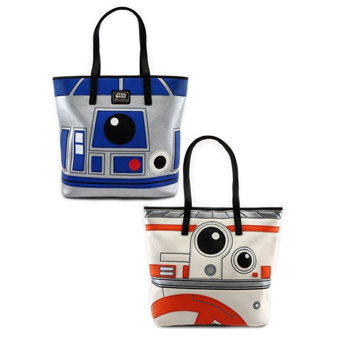 Loungefly x Star Wars R2-D2 & BB-8 Two Sided Tote Bag