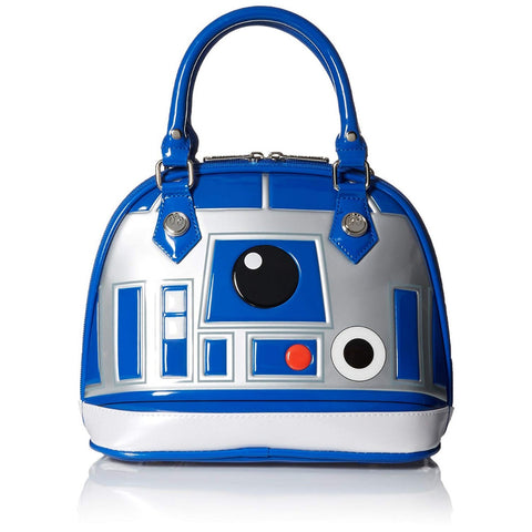 Loungefly x Star Wars R2-D2 Patent Dome Handbag