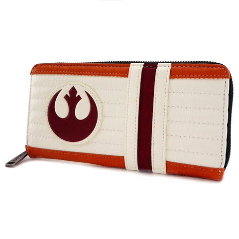 Loungefly x Star Wars Rebel Pilot Zip Around Purse